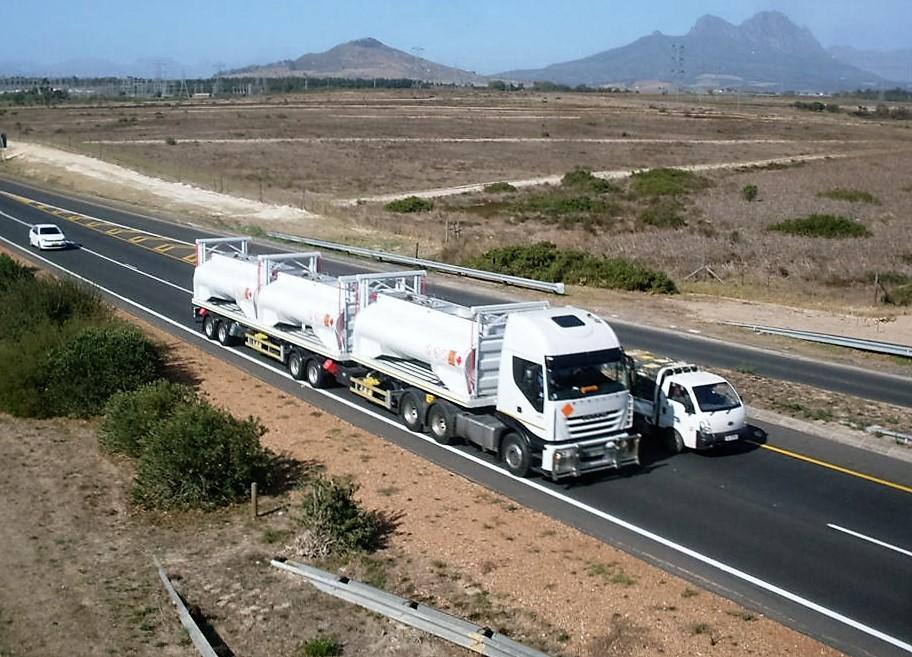 ReturnHauler with Diesel Load
